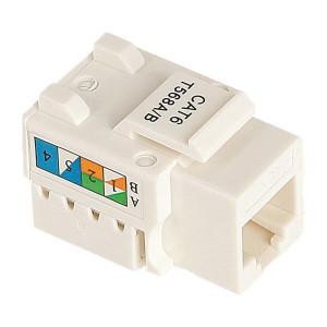 ΦΙΣ CONNECTOR RG 45 CAT 6 160-10001
