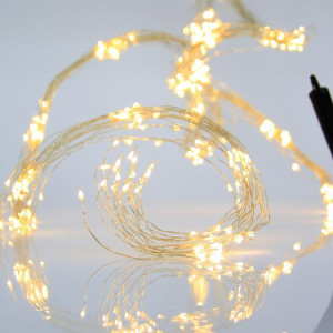 ΧΤΑΠΟΔΙ, 250 LED 5mm, 6V, 8 ΠΡΟΓΡΑΜΜΑΤΑ, ΑΣΗΜΙ ΧΑΛΚΟΣ, ΘΕΡΜΟ ΛΕΥΚΟ LED(4000Κ), ANA 10cm, ΙΡ44 600-11202