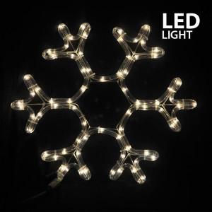 ΧΙΟΝΟΝΙΦΑΔΑ, ΘΕΡΜΟ ΛΕΥΚO, LED, ΜΕ 3m. ΦΩΤ/ΝΑ, 38x36cm, IP44 600-20103