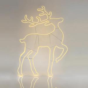 ΤΑΡΑΝΔΟΣ, ΘΕΡΜΟΣ ΛΕΥΚΟΣ, LED, ΜΕ 10m ΝΕΟΝ ΦΩΤ/ΝΑ, 140x93cm, IP44 600-23035