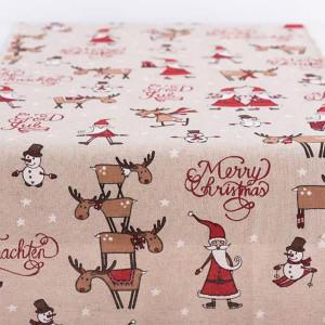 ΡΑΝΝΕΡ MERRY CHRISTMAS, 35x150cm 600-43143