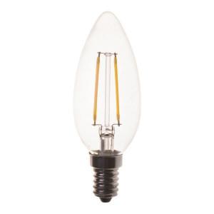 ΛΑΜΠΑ LED ΜΙΝΙΟΝ FILAMENT 4W E14 2700K 220-240V 2τμχ BLISTER 800-81134