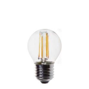 ΛΑΜΠΑ LED ΣΦΑΙΡΙΚΗ FILAMENT 4W E14 2700K 220-240V BLISTER 800-81231
