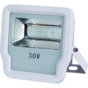 ΠΡΟΒΟΛΕΑΣ LED SMD 30W IP65 85-265V 6500K ΜΑΥΡΟΣ PRO 147-69523