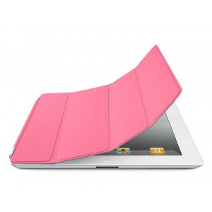 Smart Case for Apple iPad 2, 3, 4 Pink - Front Cover 04145