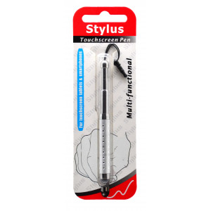 Stylus Pen Ancus Extendable for Capasitive Screen Silver 07598