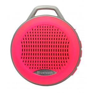 Φορητό Ηχείο Mini Bluetooth Mobilis 3W Ρόζ με Ανοιχτή Ακρόαση, Ραδιόφωνο FM και MP3 Player με Κάρτα Μνήμης Micro SD 08145