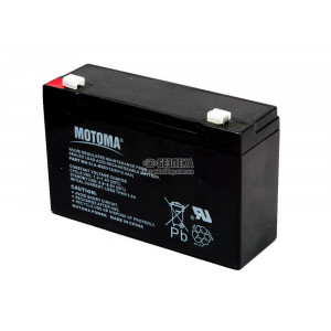 Battery for UPS Motoma SLA-MS6V12 (6V 12.0 Ah) 1.7 kg 150mm x 90mm x 50mm 12872