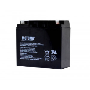Battery for UPS Motoma SLA-MS12V18 (12V 18.0 Ah) 5 kg 180mm x 165mm x 70mm 12876