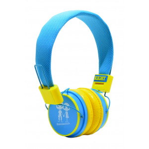 Stereo Earphone Baby EP-15 3.5 mm Blue - Yellow with Microphone and Answer Button for Mobile Phones, mp3, mp4 and Sound Devices 13689