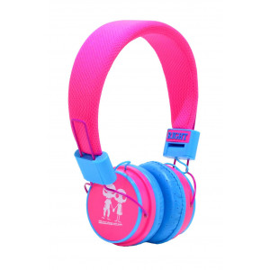 Stereo Earphone Baby EP-15 3.5 mm Fuchsia - Blue with Microphone and Answer Button for Mobile Phones, mp3, mp4 and Sound Devices 13693