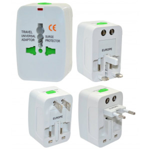World Travel Adapter (EU, USA, UK, AUS, JAP, CN) 17132