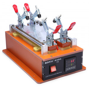 Preheater, LCD Screen Separator Bakku BK-948A 250W with Display and Temperature Setting 50° - 200° (Plate Size 19 cm x 10 cm) 17172