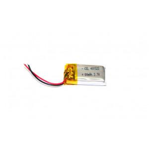 Μπαταρία για Bluetooth Hands Free 80mAh 1.5 x 1.5 cm 18136