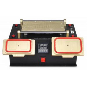 Προθερμαντήρας, Διαχωριστής Οθονών, Μεσαίων Πλαισίων TBK-978 300W 3 σε 1 με Ένδειξη και Ρύθμιση Θερμοκρασίας (34 cm x 24 cm x 18 cm) 18337