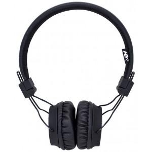 Ακουστικά Stereo NIA Foldable NIA-A1 3.5 mm Μαύρο με Μικρόφωνο για Κινητά Τηλέφωνα, Tablet και Ηλεκτρονικές Συσκευές 18358