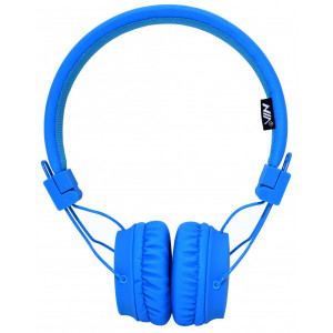 Headphone Stereo NIA Foldable NIA-A1 3.5 mm Blue with Microphone for Mobile Phones, Tablet and Electronic Devices 18359