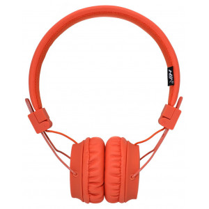 Headphone Stereo NIA Foldable NIA-A1 3.5 mm Orange with Microphone for Mobile Phones, Tablet and Electronic Devices 18361