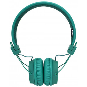 Headphone Stereo NIA Foldable NIA-A1 3.5 mm Green with Microphone for Mobile Phones, Tablet and Electronic Devices 18362