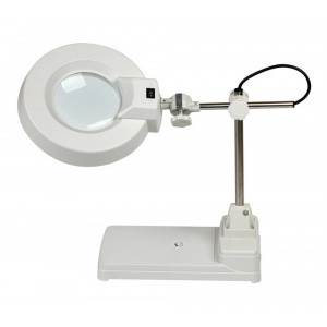 Office Lamp LT-86B with Illumination 10X Magnifying Glass 30cm 20298