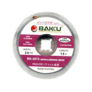 Desoldering Wick Bakku BK-2015 1.5 m / 2.0 mm 20319