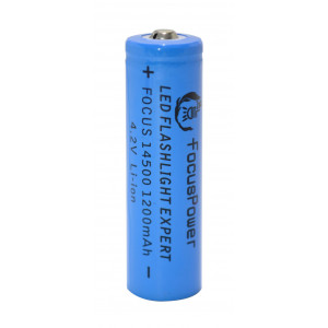 Rechargable Ιndustrial Τype Βattery FocusPower LCR 1450 Li-ion 1200mAh 4.2V 20333