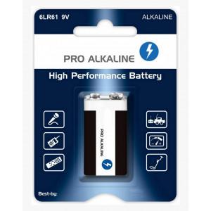 Μπαταρία Pro Alkaline 6LR61 size 9V Τεμ. 1 21417