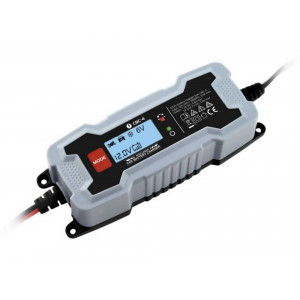 Travel Charger 1A 6/12V Lead Battery 240V/60Hz with Lcd 21436