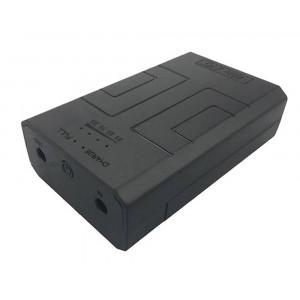 Mini UPS MU91 DC12V/2A 24W 2600 mAh DC to DC Black 21684