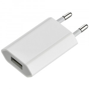 Travel Charger 5V 1000mAh White Bulk 21805