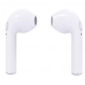 Hands Free Stereo i7S TWS Wireless Λευκό με Βάση Φόρτισης, Μεταφοράς 22602
