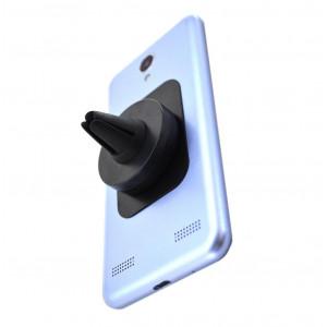 Βάση Στήριξης Αεραγωγού Αυτοκινήτου Ancus Mini Magnetic Μαύρο για Smartphone 22726