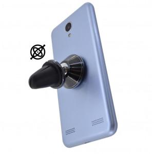 Βάση Στήριξης Αεραγωγού Αυτοκινήτου Ancus Mini Magnetic 360° Μαύρο για Smartphone 22727
