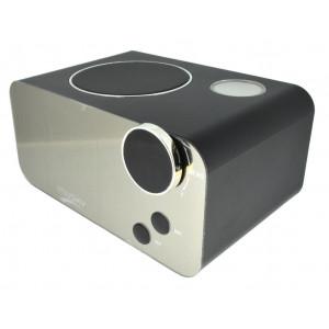 Φορητό Ηχείο Bluetooth Musky DY39 με Ξυπνητήρι, Ραδιόφωνο, Θερμοκρασία, Ανοιχτή Ακρόαση και Υποδοχή USB, AUX, Κάρτα Μνήμης 22885