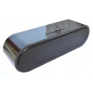 Φορητό Ηχείο Bluetooth S-211 2x5W με Ραδιόφωνο, Audio-In, Ανοιχτή Ακρόαση και Υποδοχή USB Μαύρο 22900