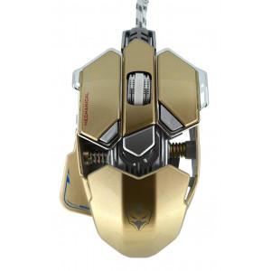 Ενσύρματο Ποντίκι Mechanical Gaming Mouse Luom G10 Led 10 Πλήκτρων 4000 DPI Χρυσαφί 22933