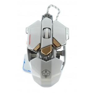 Ενσύρματο Ποντίκι Mechanical Gaming Mouse Luom G10 Led 10 Πλήκτρων 4000 DPI Λευκό 22935