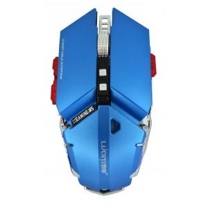 Ενσύρματο Ποντίκι Mechanical Gaming Mouse Luom G50 10 Πλήκτρων 4000 DPI Μπλε 22937
