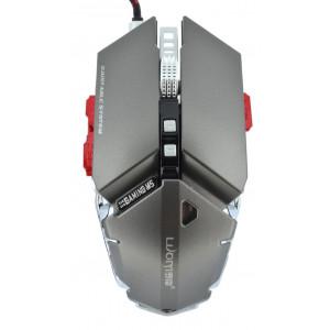 Ενσύρματο Ποντίκι Mechanical Gaming Mouse Luom G50 10 Πλήκτρων 4000 DPI Γκρι 22938