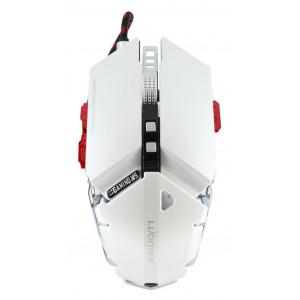 Ενσύρματο Ποντίκι Mechanical Gaming Mouse Luom G50 10 Πλήκτρων 4000 DPI Λευκό 22939