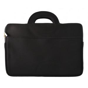 Τσάντα Notebook Χειρός Neoprene έως 15.6 Μαύρο (39 cm x 30 cm) 22955