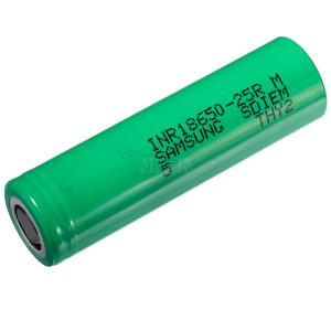 Επαναφορτιζόμενη Μπαταρία Βιομηχανικού Τύπου Samsung 18650 INR18650-25R  Li-ion 3.7V 2500mAh 30A 23476