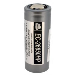 Επαναφορτιζόμενη Μπαταρία Βιομηχανικού Τύπου EnerCig 26650 EC-26650HP Li-ion 3.6V 4200mAh 20A 23785