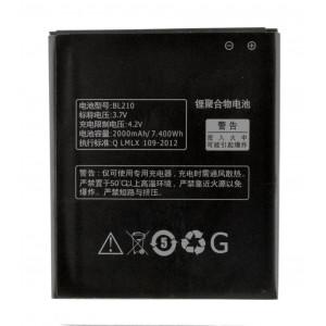 Μπαταρία BL210 για Lenovo S820/S820E/A750E/A770E/A656/A766/A658T/S650/A526 Li-ion, 2000mAh, 4.2V Bulk 24039