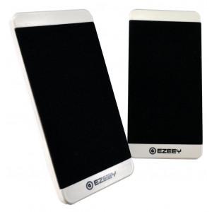 Ηχείο Stereo Multimedia Ezeey S5 με σύνδεση 3.5mm και USB φόρτιση, 2.5W x 2, 4Ω 3W, Λευκό 24115