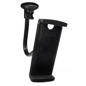 Βάση Στήριξης Αυτοκινήτου Universal Μαύρο για Smartphone 3.5' - 5.5' και Tablet 7' - 10' 24129