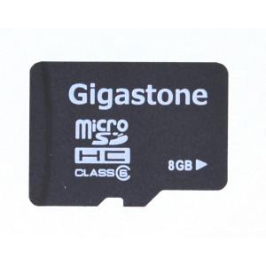 Κάρτα Μνήμης Gigastone MicroSDHC 8GB Class 6 χωρίς SD Αντάπτορα Bulk 24580