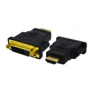 Αντάπτορας DVI-I (Dual Link) Αρσενικό σε HDMI Αρσενικό Jasper 25260