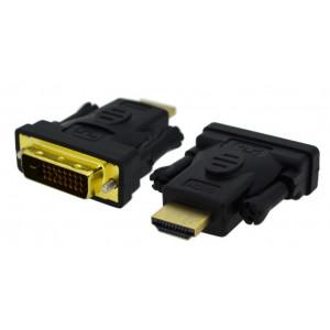 Αντάπτορας DVI-I (Dual Link) Θηλυκό σε HDMI Αρσενικό Jasper 25261
