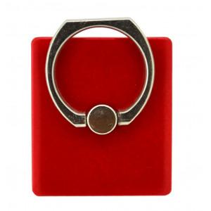 Βάση Στήριξης Γραφείου 360° Rotating Ring για Κινητά Τηλέφωνα Κόκκινο 3.5 x 4 cm 25573